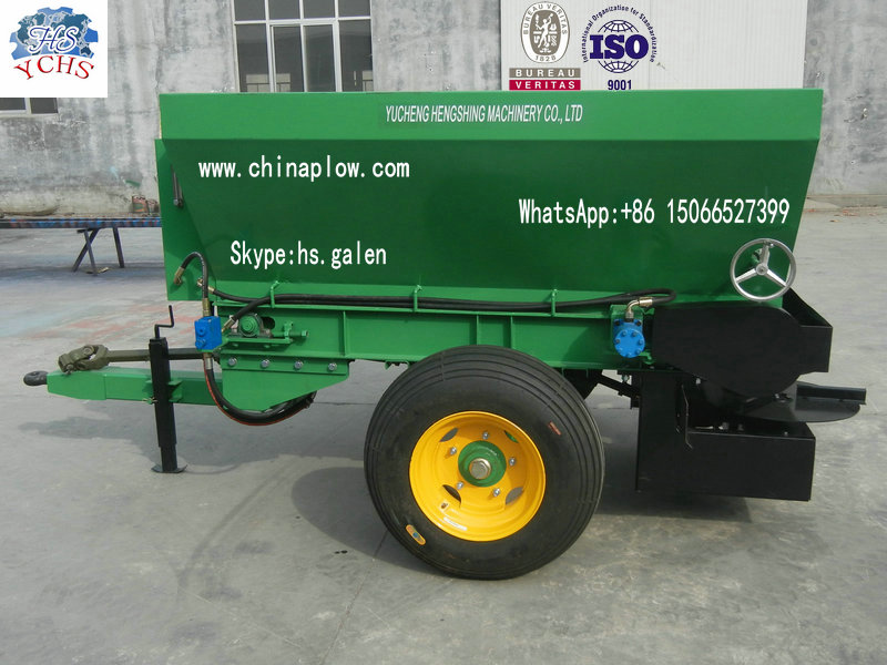 Trailed Heavy Duty Fertilizer Spreader China Professional Manufacturer