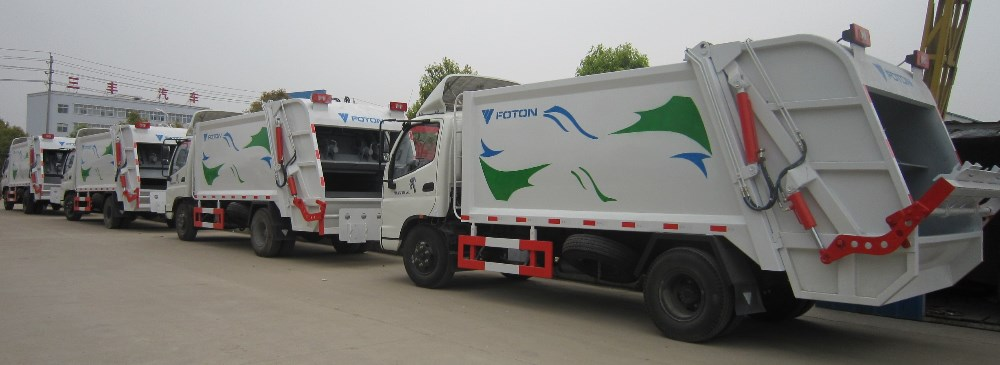 FOTON garbage compress truck