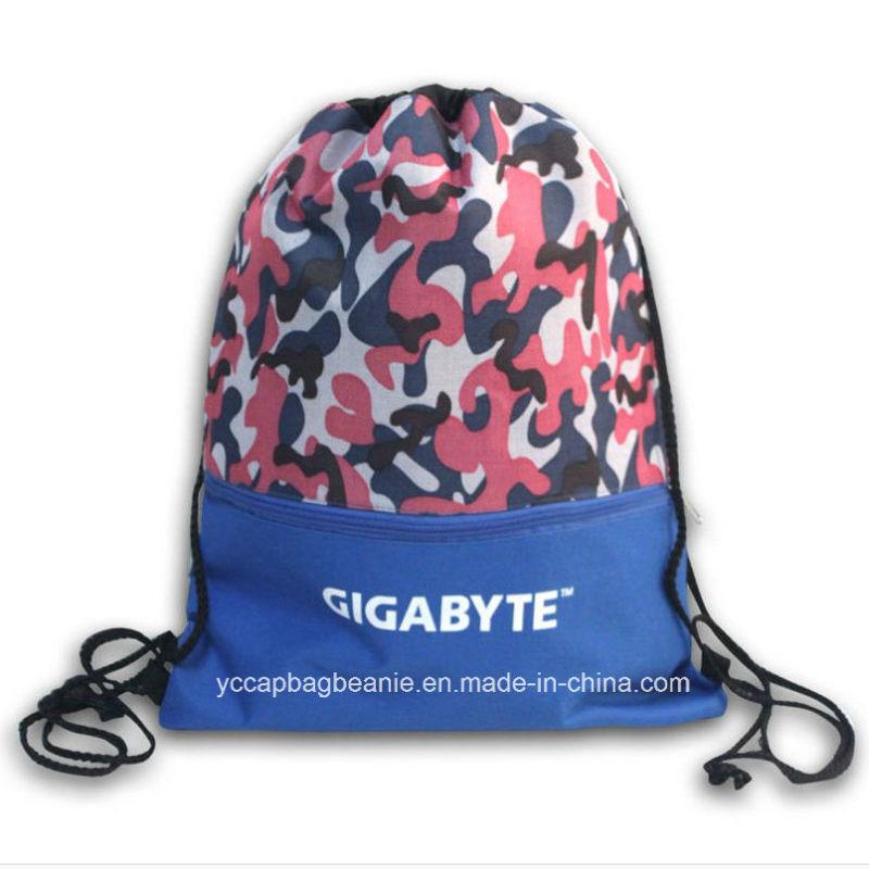 600d Sport Drawstring Backpack Bag