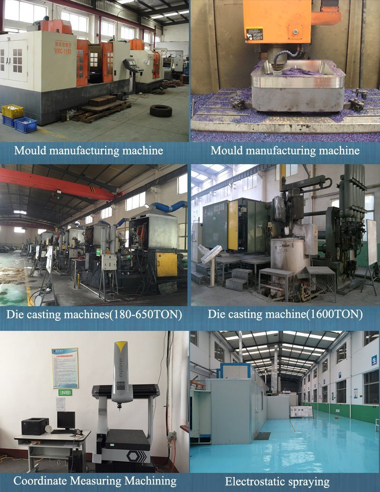 Die Casting Spotlights with Powder Coating Finish