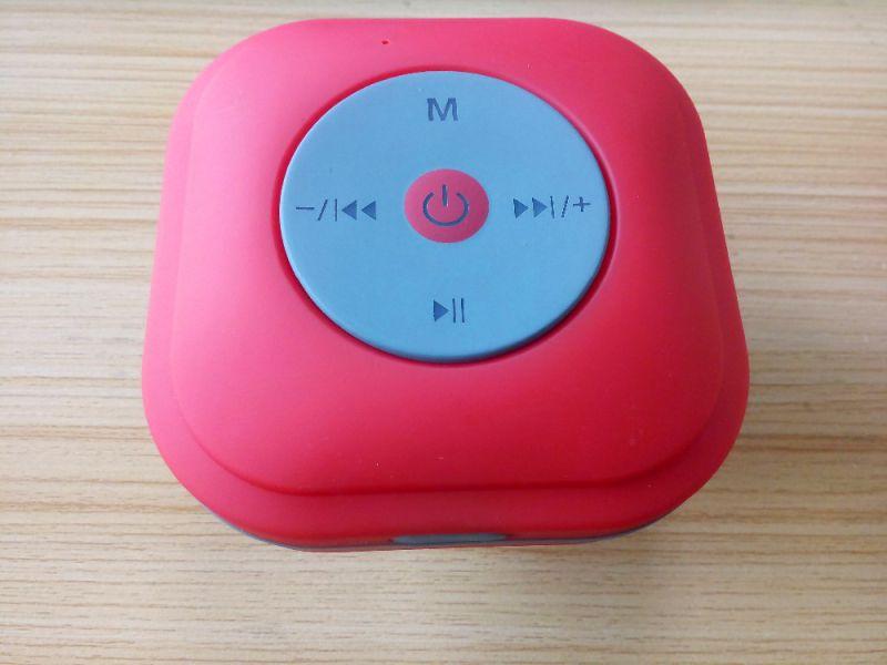 Waterproof Sucker Bluetooth Speaker for Bathroom