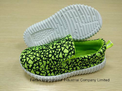 New Design Kids Slip-on Casual Injection Sport Shoes FF727-8