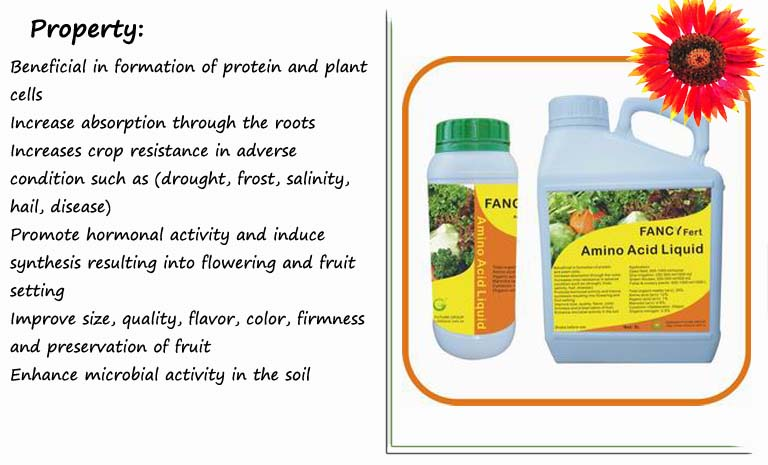 Qingdao Future Group Liquid Foliar Fertilizers