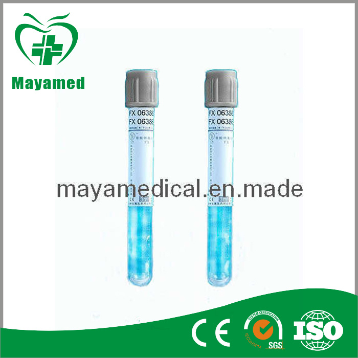 Glucose Tube Vacuum Blood Collection - Grey (ST- G1)