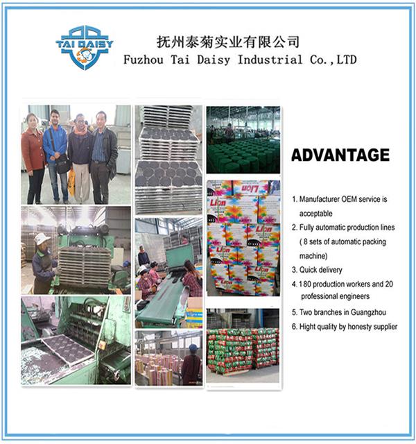 Bd Lion Mosquito Coil /Guangzhou Cheap Mosquito Incense Coil