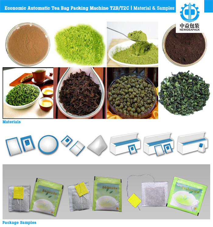 Automatic Tea Bag Packaging Machines (ND-T2B/T2C)
