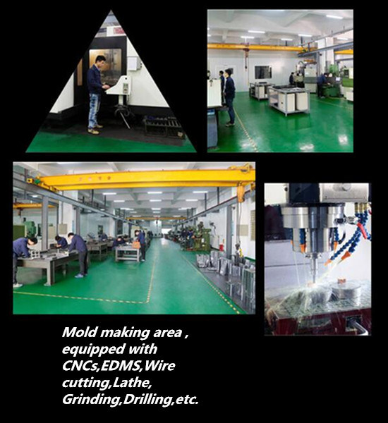 Plastic Injection Mould for LCD Frame
