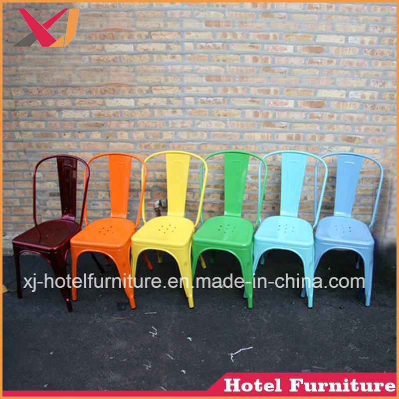 Strong Silver/White/Blue Marais Chair for Coffee/Bar/Wedding/Garden/Banquet/Hotel