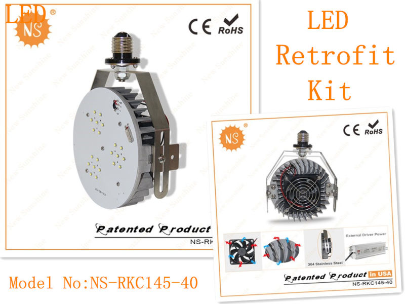 Ce RoHS Meanwell Power Supply 40W LED Retrofit Kits