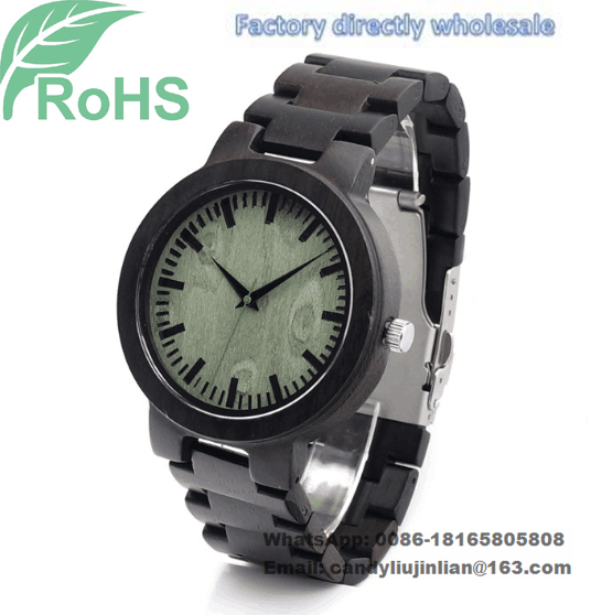 Fashion Wrist Watch Wooden Watch Men's Women's Quartz Watch