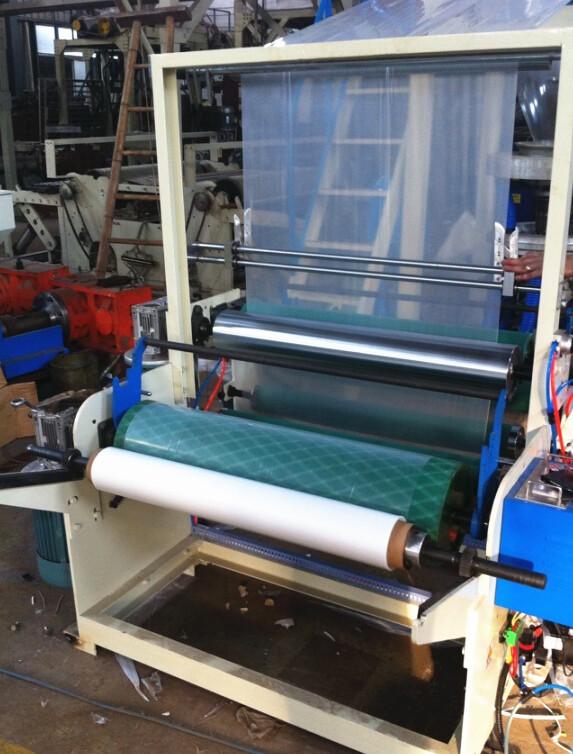 Sj-60-1100 Film Extruding Machine Finish Film Max. Width 1000mm