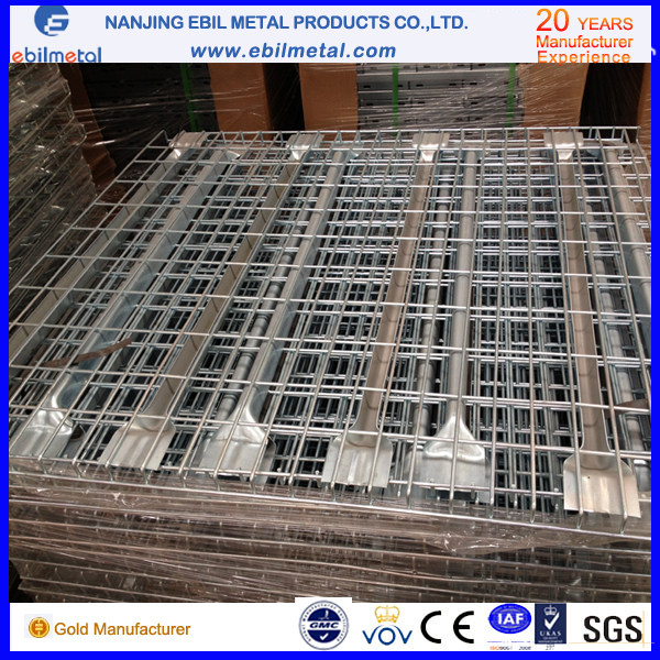 Steel Q235 Wire Mesh Decking for Pallet Rack in Warehouse Storage