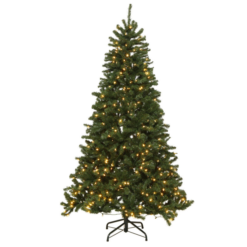 Small Potted Christmas Tree with Cherry and Light (direct factory)