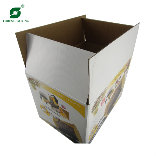 Easy Assembled Corrugated Cardboard Box (FP3047)