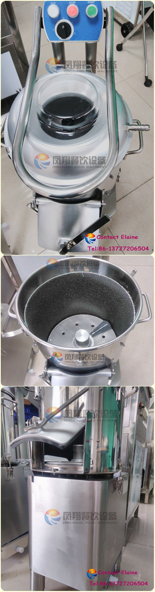 Small Automatic Sweet Potato Washing and Peeling Machine for Sale