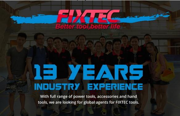 Fixtec Cordless Screwdriver with Li-ion Battery