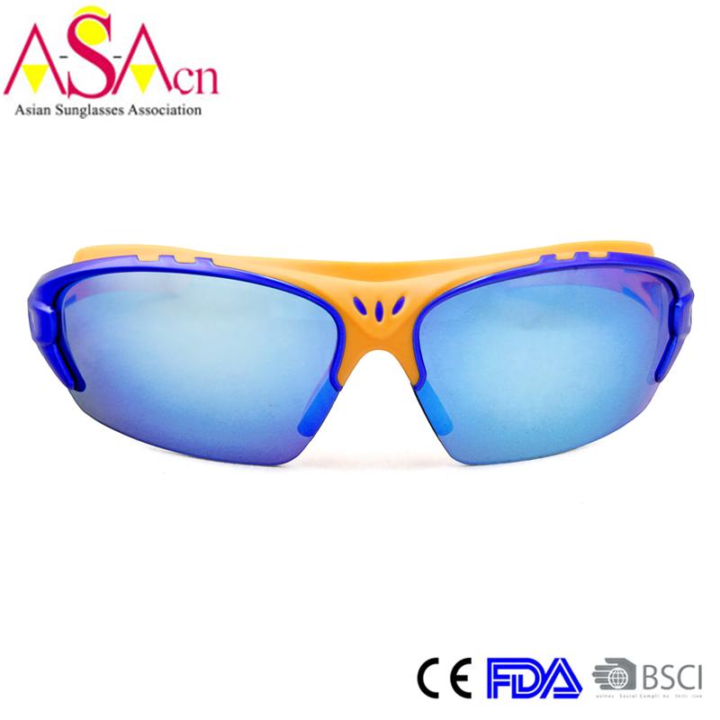 Men's Fashion Designer UV400 Protection PC Sport Sunglasses (14368)