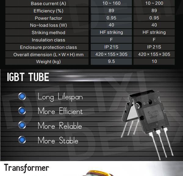 IGBT TIG Welding Machine 200AMPS