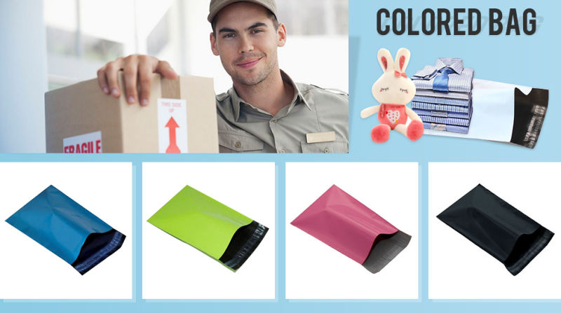 Customized LDPE Colored Plastic Mailing Bag