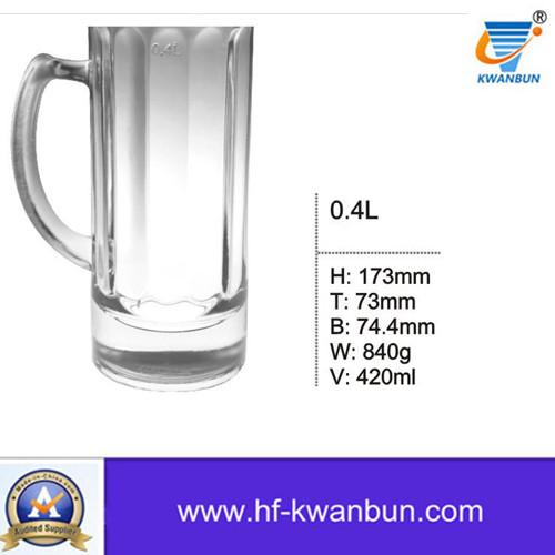 High Quality Glass Cup Beer Mug Beer Tumbler Kb-Hn03590