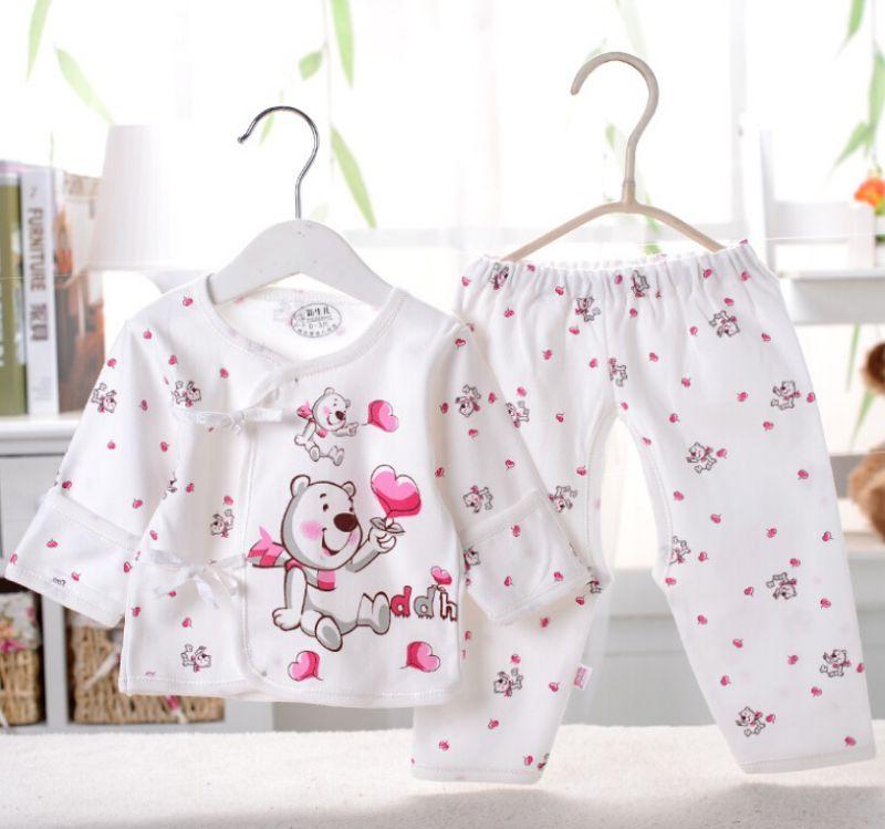 Newborn Baby Clothes 2 PCS Infant Apparel