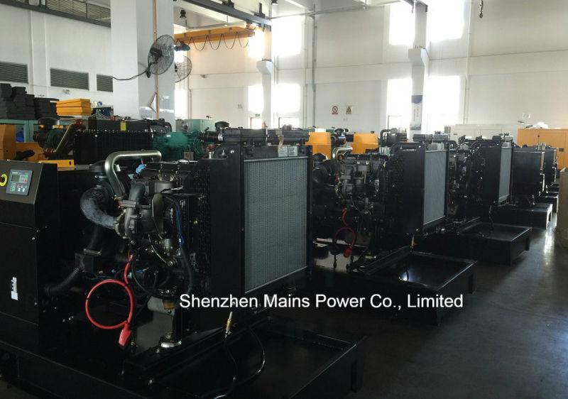 50kVA 40kw Standby Rate UK Pekins Engine Silent Diesel Generator