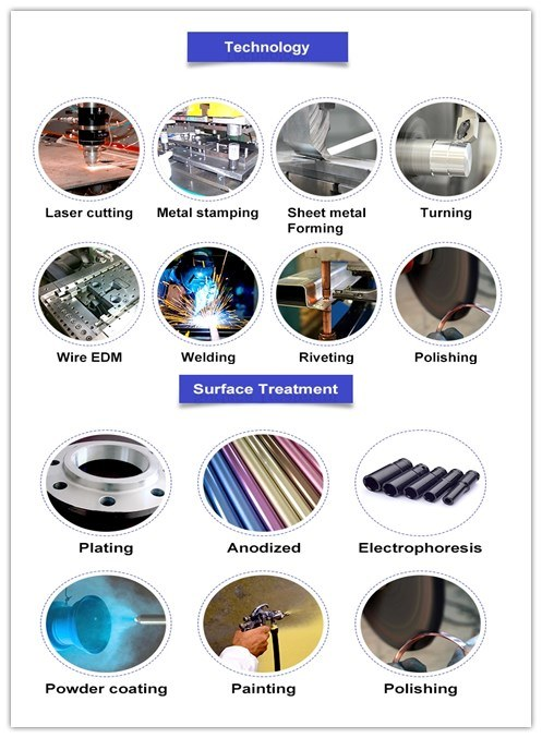 OEM Metal Embedded Construction Stamping Parts