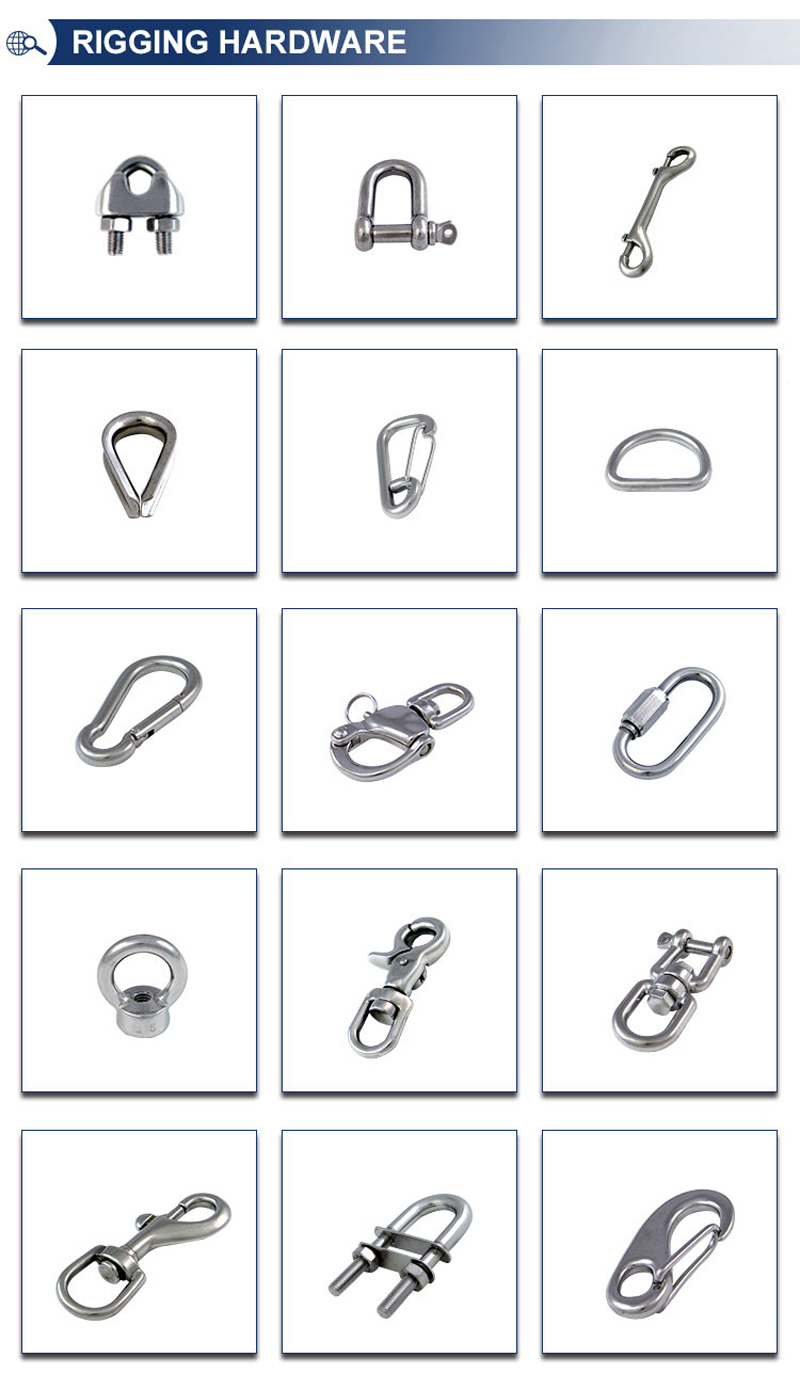 Different Size U Bolt for Building Industry Using