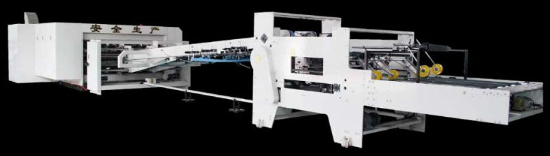 Fully Automatic 3 Color Printing Slotting Die-Cutter and Folder Gluer