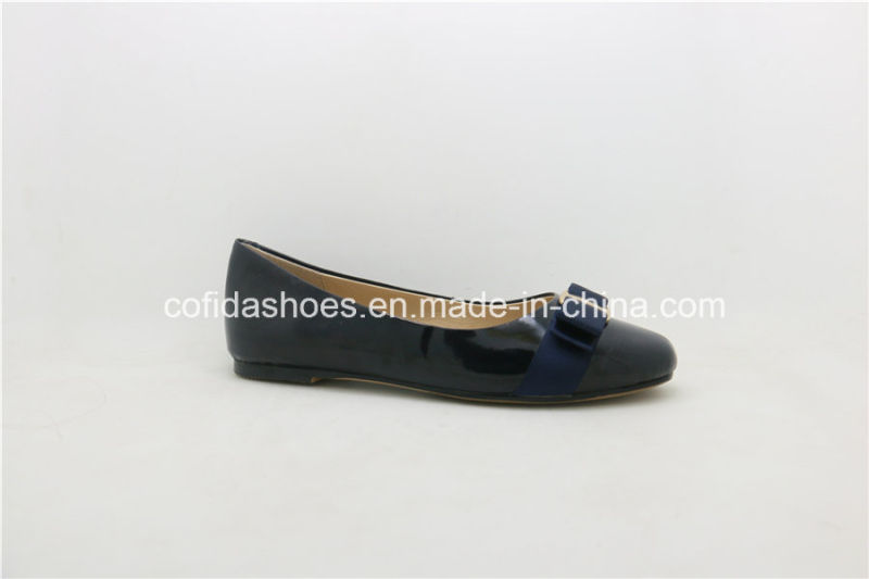 Latest Comfort Europe Ballerina Pumps Leather Lady Shoe