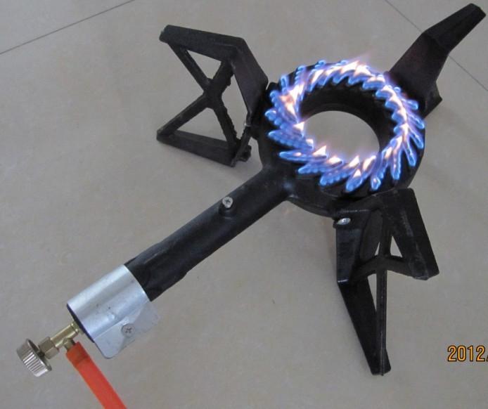 3 Leg Single Burner GB-05b Gas Burner
