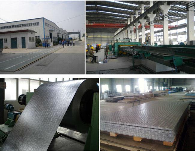 Bright Finish Aluminum/Aluminium Chequer Plate Five Bar H14/H24 A1050 1060 1100 3003 3105 5052