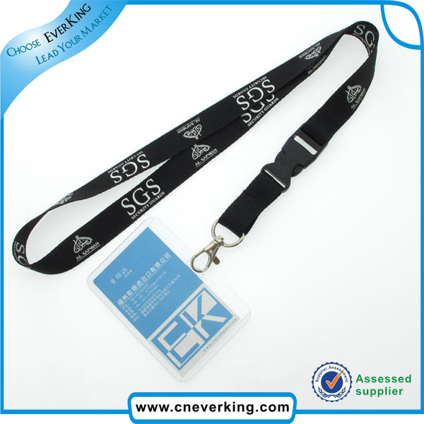 Accept Paypal Customized ID Card Blank Neck Lanyard