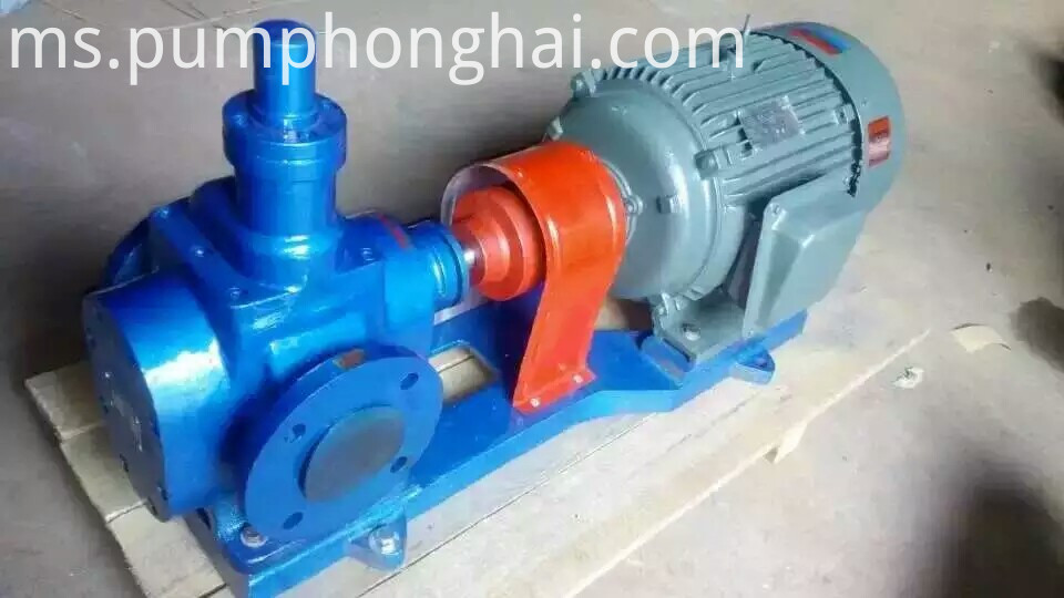 electric industrial gear oil pump