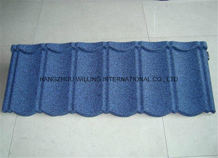 Economical Stone Coated Classic Sheet Metal Roofing Tile