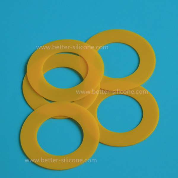 Customized Molded Silicone Rubber Ring Washer