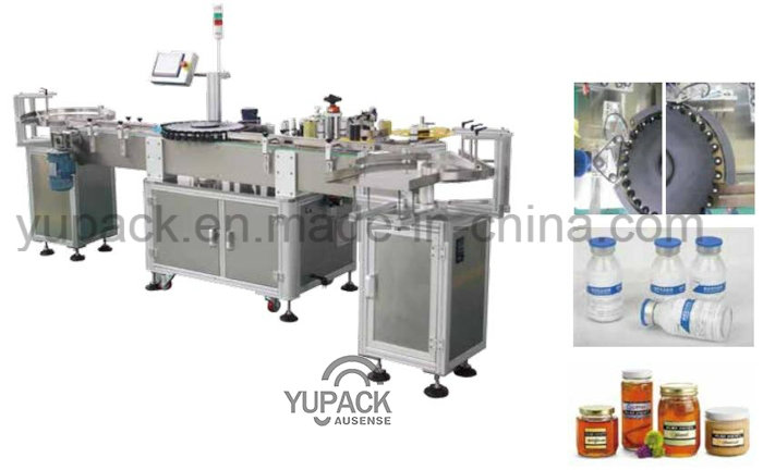 High Efficiency Suit Round Bottles Labeling Label Printers