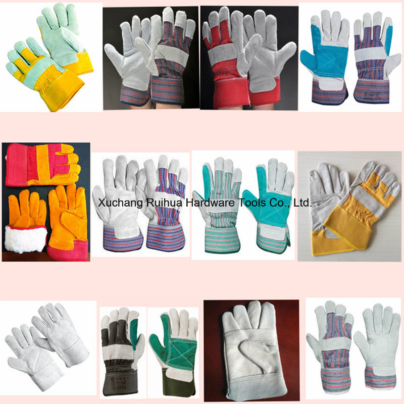 Short Welding Gloves, Safety Working Gloves, 10.5''patched Palm Leather Gloves, Reinforced Palm Leather Working Gloves, Driver Gloves Manufacturer