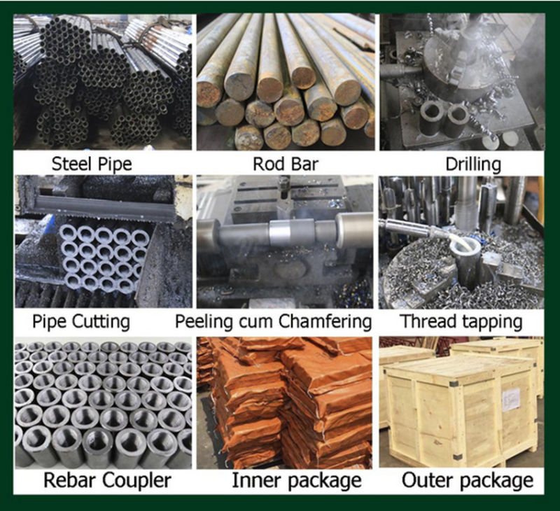 Reinforcement Connecting Steel Rebar Coupler