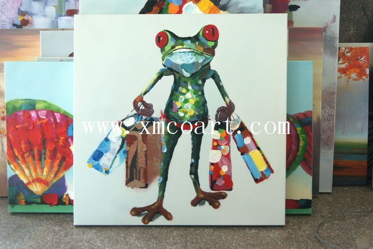 New Style Animal Oil Painting (new-314)