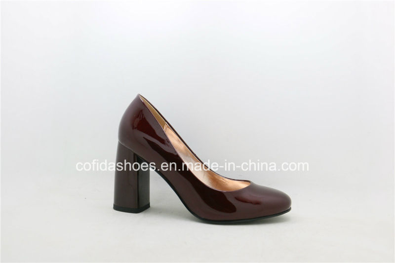 2017 New Trendy Fashion High Heel Ladies Dress Shoes