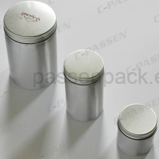 400ml Aluminum Tea Tin Can with Silkscreen Printing on Lid