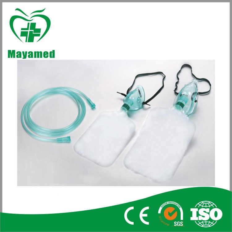 First-Aid Oxygen Mask with Reservoir Bag