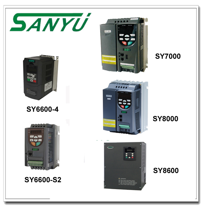 Sanyu New Sy7000 Series Three Phases Vector Control Frequency Inverter