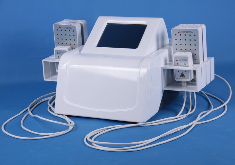 Quick Slim Lipolaser Slim Machine Br509, Lipo Laser Weight Loss Belly Reduce, 660nm 980nm Lipolaser Cold