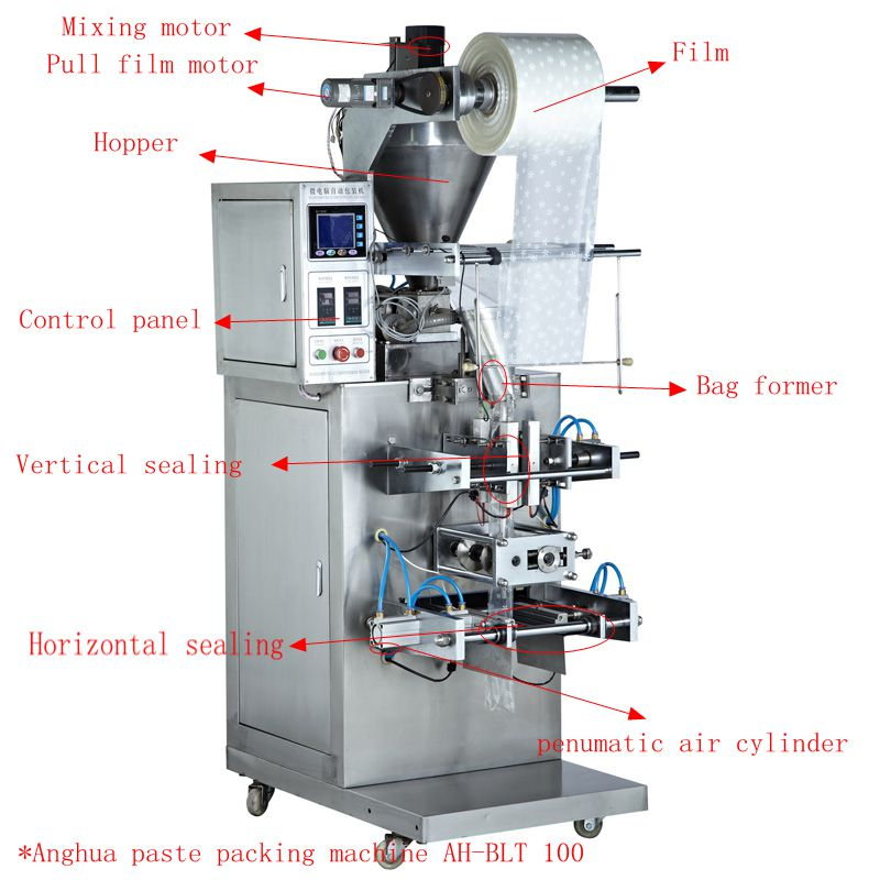Vertical Paste Packing Machine Good Price
