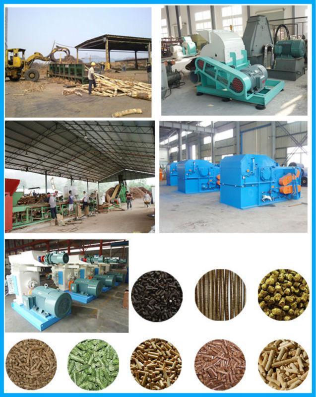 Cotton Seeds Husk Granulating Machine