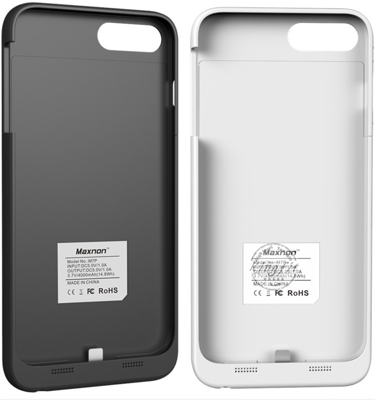 Cell Phone Accessories Extended Battery Charger Case for Apple iPhone 7 Plus