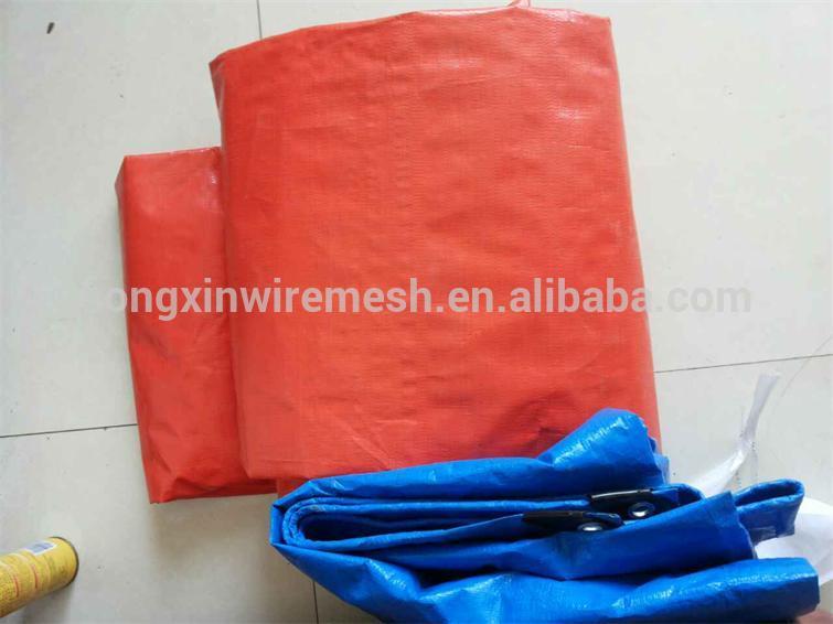 double orange color fabric