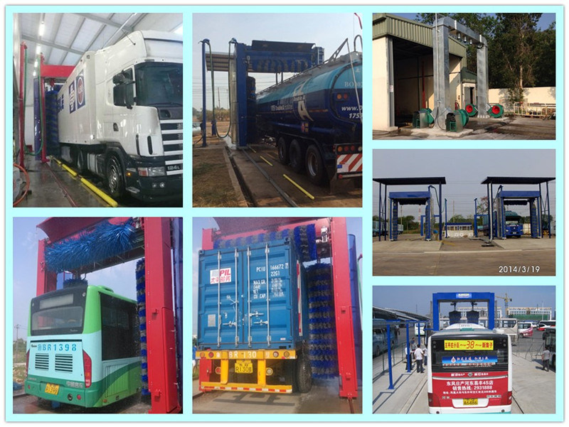 Automatic Bus and Truck Wash Machine for Clean Equipment